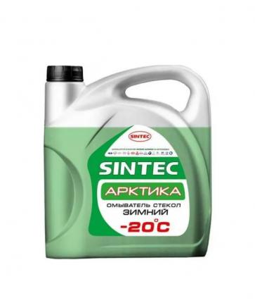 Жидкость омывателя незамерзающая -20C Sintec Арктика готовая 4 л 900601