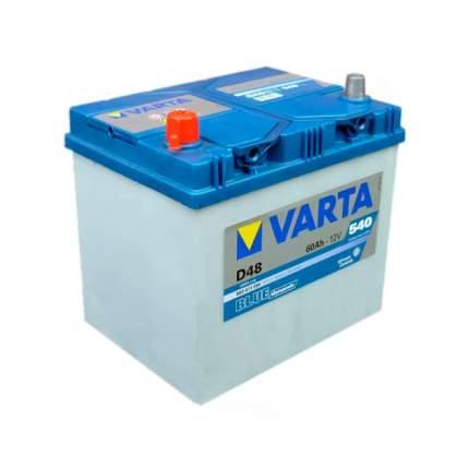 560411054_аккумуляторная Батарея! Blue Dynamic 19.5/17.9 Рус 60ah 540a 232/173/225 Varta