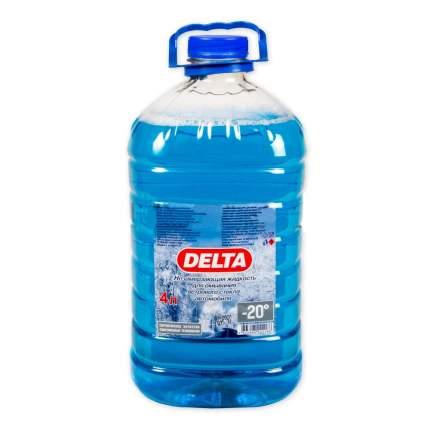 Жидкость омывателя незамерзающая -20C DELTA-NEO ПЭТ готовая 4 л 00-000001551