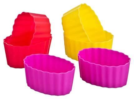 Набор форм Agness 710-115 Розовый, желтый, красный