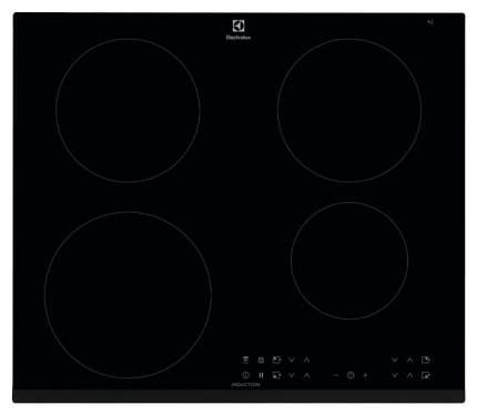 Встраиваемая варочная панель индукционная Electrolux IPE6440KFV Black
