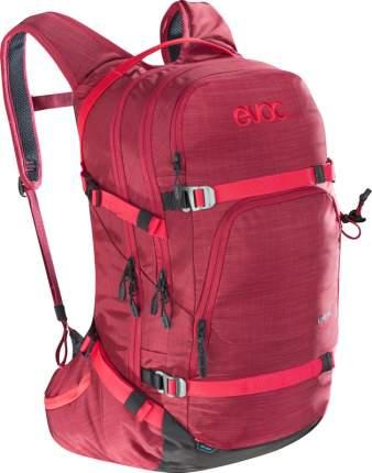 Рюкзак для лыж и сноуборда EVOC Line, heather ruby, 28 л