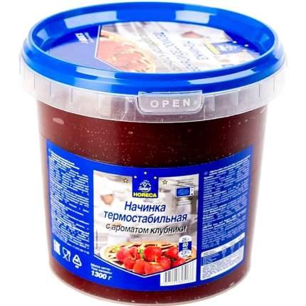 Начинка Horeca термостабильная протертая с ароматом клубники 1.3 кг