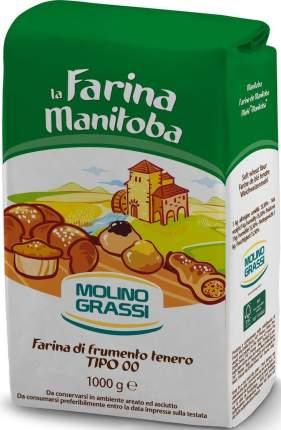 Мука Molino Grassi манитоба из мягких сортов пшеницы 1 кг