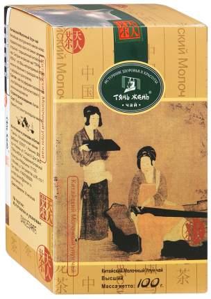 Чай Тянь-Жень молочный улун китайский крупнолистовой с молочным ароматом 100 г