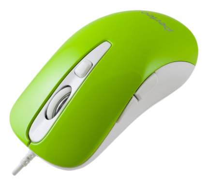 Проводная мышка Perfeo PF-363-OP Hill White/Green