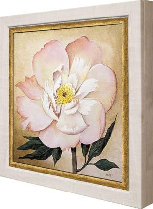 """Ключница """"Большой розовый цветок"""" Клен"""
