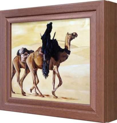 """Ключница """"Верблюды"""" Орех"""
