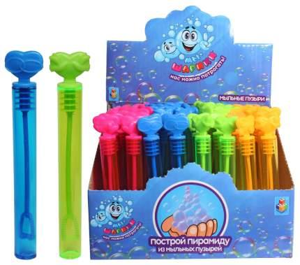 Мыльные пузыри 1TOY Т59638 Розовый, голубой, желтый, зеленый
