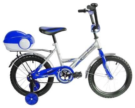 Велосипед двухколесный мультяшка френди 1601 16 1s (синий)
