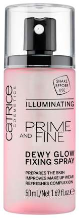 Фиксатор макияжа Catrice Prime And Fine Dewy Glow Fixing Spray 50 мл