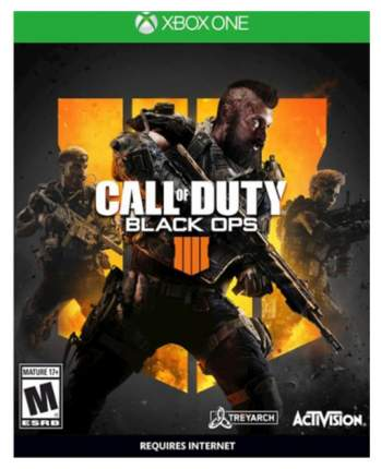 Игра Call of Duty Black Ops 4 для Xbox One