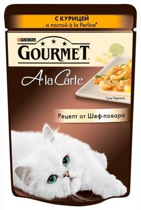 Влажный корм для кошек Gourmet A la Carte, курица, 24шт, 85г