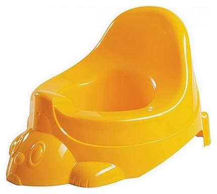 Бытпласт горшок-игрушка детский желтый
