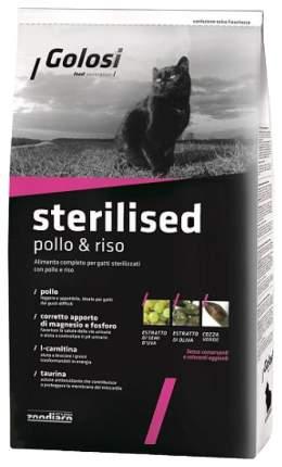 Сухой корм для кошек Golosi Sterilised, для стерилизованных, курица, 0,4кг