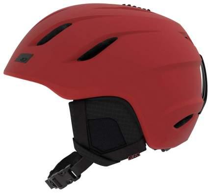 Горнолыжный шлем Giro Nine 2019, темно-красный, L