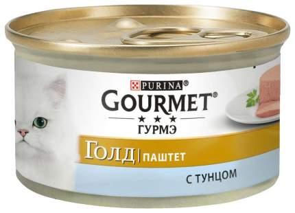 Консервы для кошек Gourmet Gold, тунец, 24шт, 85г