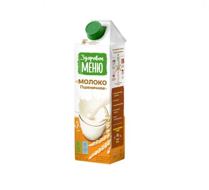 Молоко пшеничное Здоровое Меню 1 л