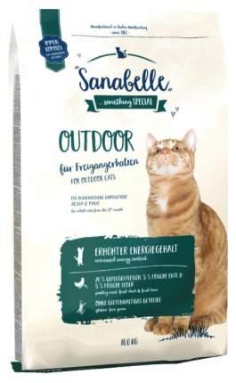 Сухой корм для кошек Bosch Sanabelle Outdoor, для гуляющих на улице, утка, 10кг