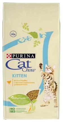 Сухой корм для котят Cat Chow Kitten, домашняя птица, 7кг