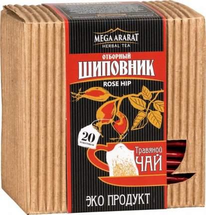 Чай травяной Mega Ararat шиповник отборный 20 пакетиков