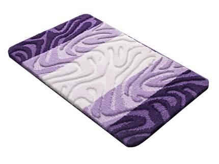 Коврик для ванной РР MIX 4K фиолетовый, SHAHINTEX