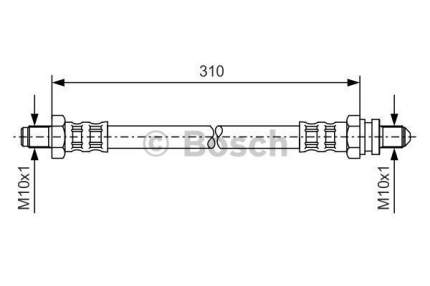 Шланг тормозной системы Bosch 1 987 476 407