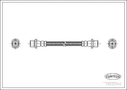 Шланг тормозной CORTECO 19032562