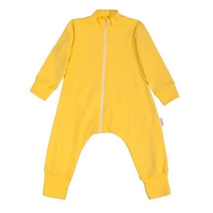 Комбинезон-пижама Bambinizon Желтый ЛКМ-БК-ЛИМ р.74