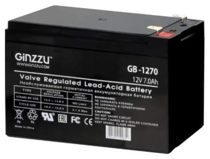 Батарея аккумуляторная Ginzzu GB-1270 Черный