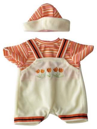 Комплект одежды Miniland для куклы-девочки 21 см