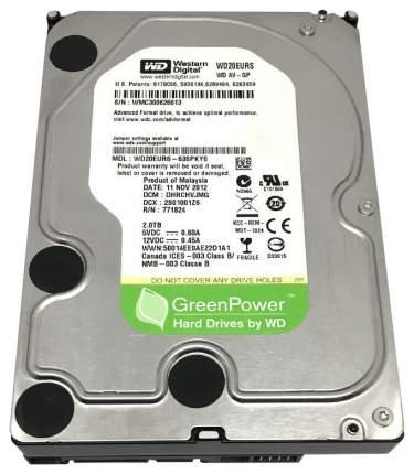 Внутренний жесткий диск Western Digital 2TB (WD20EURS)