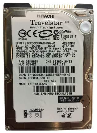 Внутренний жесткий диск HGST Travelstar 80GN 80GB (IC25N080ATMR04)