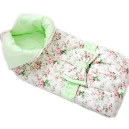 Одеяло-трансформер Евгения Весна Сливочная нежность с зеленым
