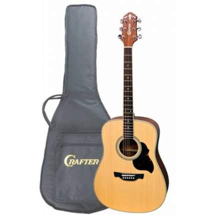 Акустическая гитара CRAFTER D-6 N  Чехол