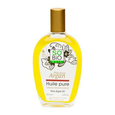 Масло SO'Bio etic аргановое чистое органическое, 50 мл