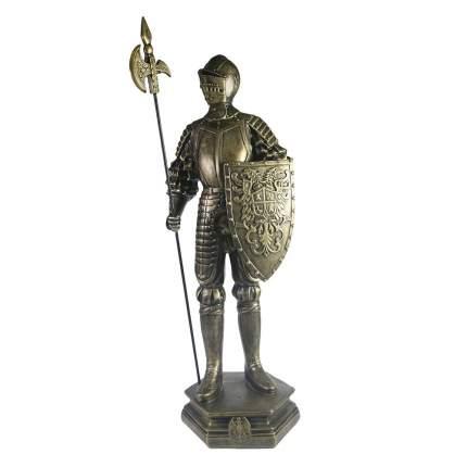 Изделие декоративное Рыцарь цвет: темное золото L15W17H53см