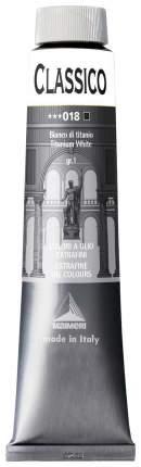 Масляная краска Maimeri Classico белила титановые 200 мл