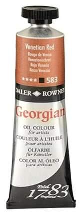 Масляная краска Daler Rowney Georgian венецианский красный 75 мл