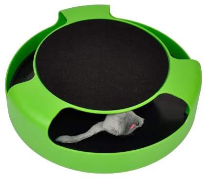 Развивающая игрушка для кошек Спектр Поймай мышку Catch The Mouse, зеленый, 25 см