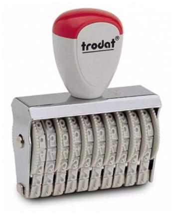 Нумератор ленточный Trodat Classic Line 15410. 10 разрядов. Высота шрифта: 4 мм