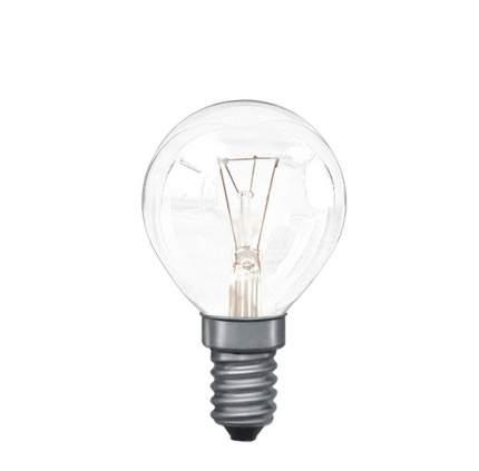 Лампа накаливания Капля 25 Вт Е14 45 мм Прозрачный Для духовки 82020