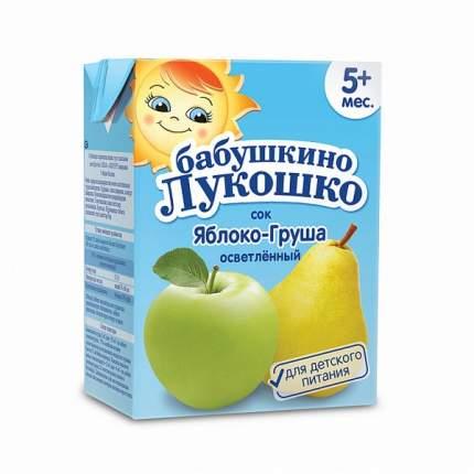 Сок Бабушкино лукошко Яблоко груша с 5 мес 200 мл