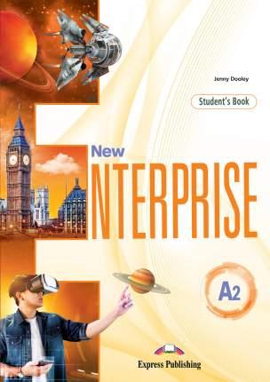 New Enterprise A2, Student'S Book With Digibook App, Учебник (С Ссылкой на Электронно...