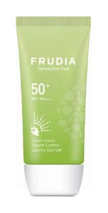 Солнцезащитное средство Frudia Green Grape Sebum Control Cooling Sun Gel SPF50+ 50 мл