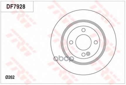 Тормозной диск TRW/Lucas DF7928