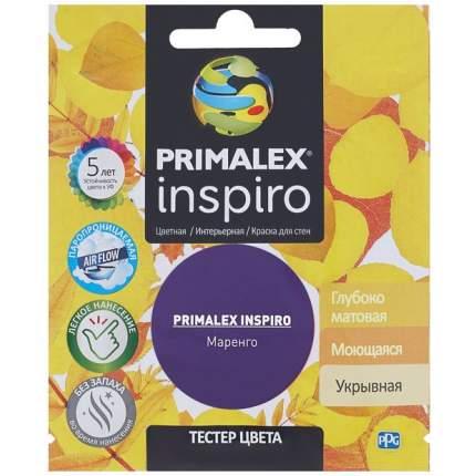 Краска для внутренних работ Primalex Inspiro Тестер 40мл Маренго, PMX-I34