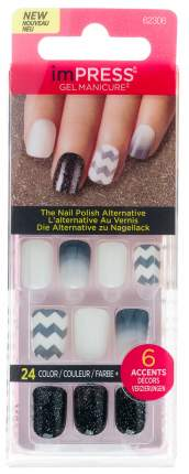 Накладные ногти Kiss Impress Press-on Manicure 62306