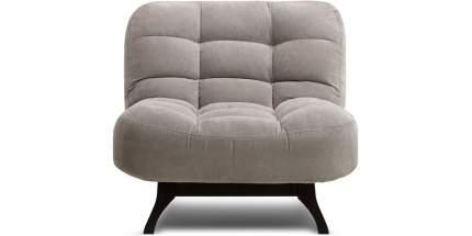 Кресло для гостиной Divan.ru Бонс Velvet Grey, серый