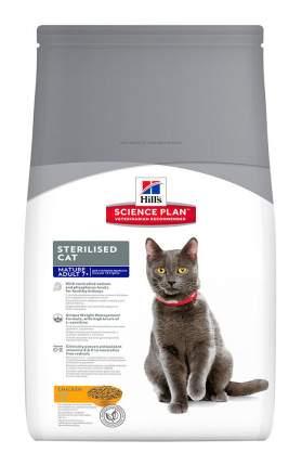 Сухой корм для кошек Hill's Science Plan Sterilised Cat Mature Adult 7+, курица, 1,5кг